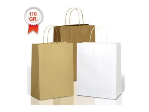 buste shopper carta manico cordino