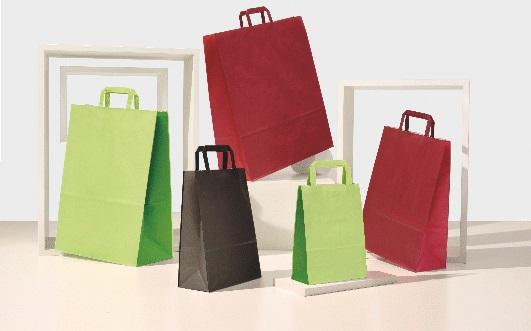 buste-shopper-carta-bicolore-piattina-kraft-bianco-maniglia-piatta-colorata-pompelmo-prugna-lime-melone-nero-linea-bicolore