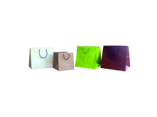 busta-shopper-lusso-plastificato-lucido-opaco-manico-corda-fettuccia-nastro-rinforzi-fondo quadro
