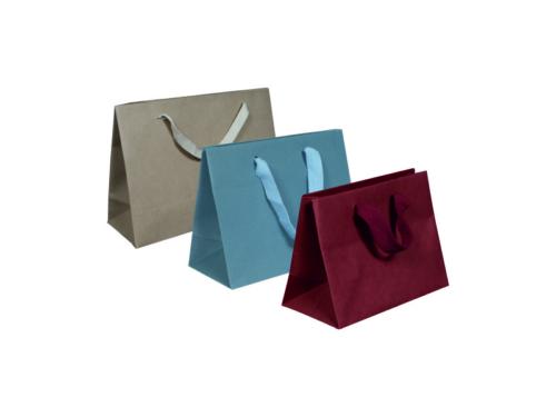 busta-shopper-lusso-plastificato-lucido-opaco-manico-corda-fettuccia-nastro-rinforzi-ka-colorate