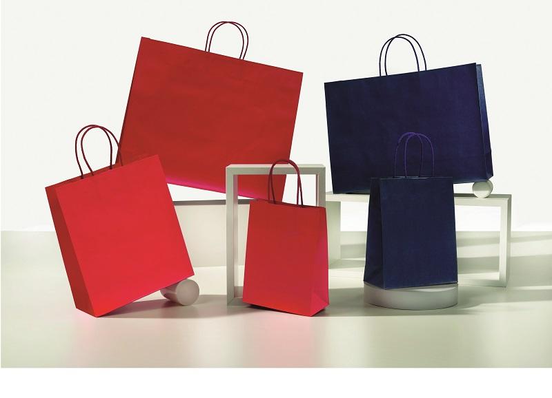 buste-shopper-carta-kraft-bianco-colorate-manico-maniglia-cotone-bordo-piegato-piega-risvolto-risvoltato
